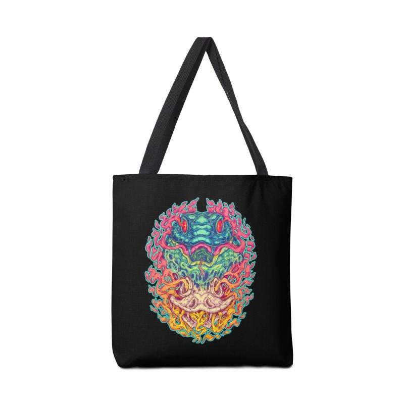 Serpent Revenge Accessories Bag by villainmazk's Artist Shop