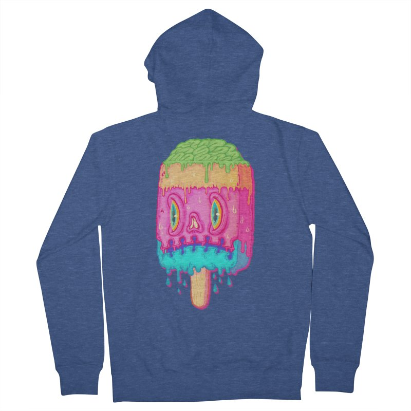 Zombie Icecream Men's Zip-Up Hoody by villainmazk's Artist Shop