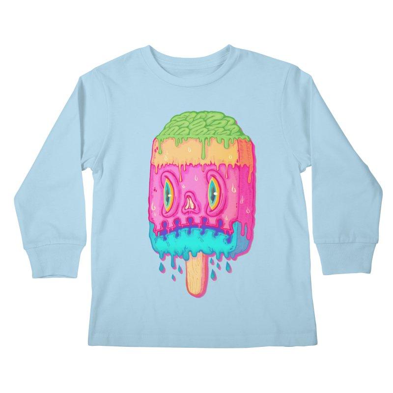 Zombie Icecream Kids Longsleeve T-Shirt by villainmazk's Artist Shop