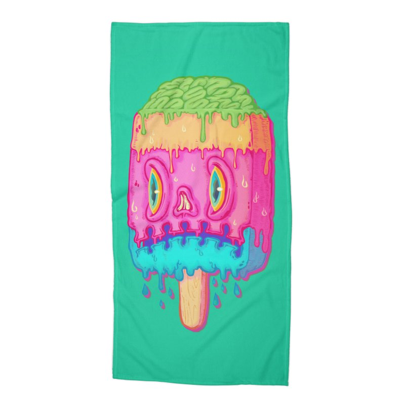 Zombie Icecream Accessories Beach Towel by villainmazk's Artist Shop