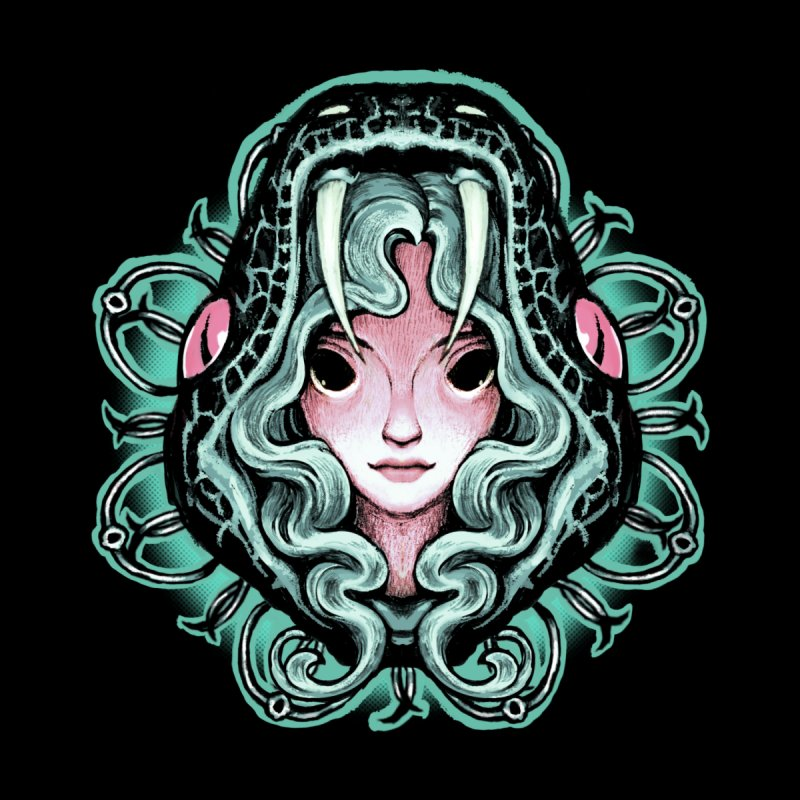 Serpent Girl Men's Longsleeve T-Shirt by villainmazk's Artist Shop