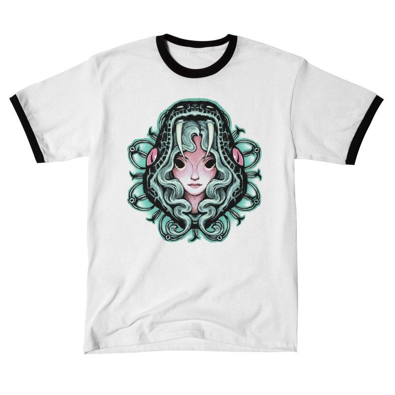 Serpent Girl Women's T-Shirt by villainmazk's Artist Shop