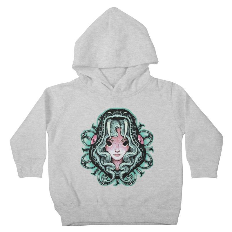 Serpent Girl Kids Toddler Pullover Hoody by villainmazk's Artist Shop