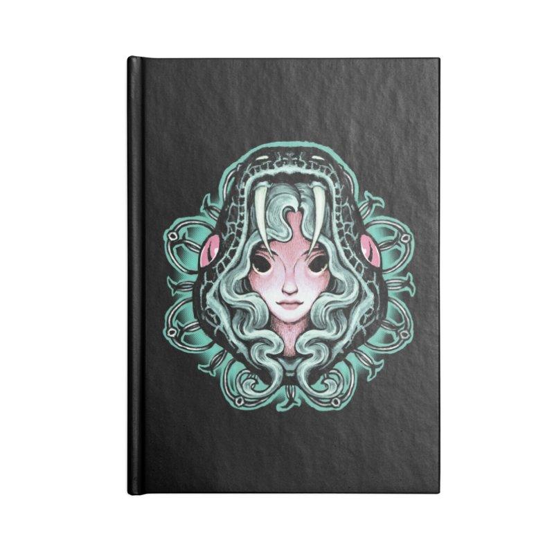 Serpent Girl Accessories Notebook by villainmazk's Artist Shop