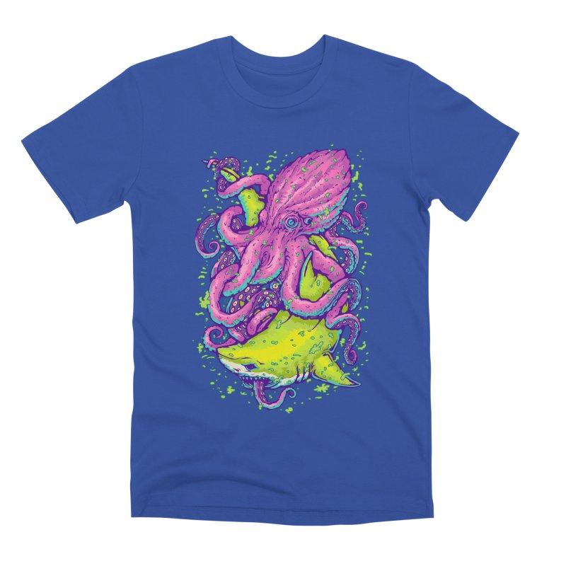 Ocean king Men's Premium T-Shirt by villainmazk's Artist Shop