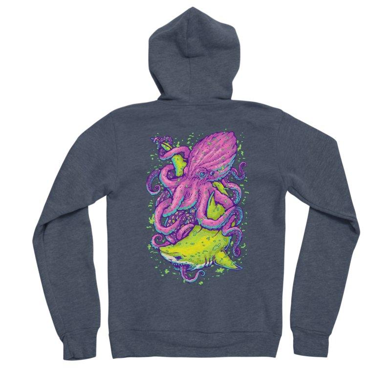 Ocean king Men's Sponge Fleece Zip-Up Hoody by villainmazk's Artist Shop