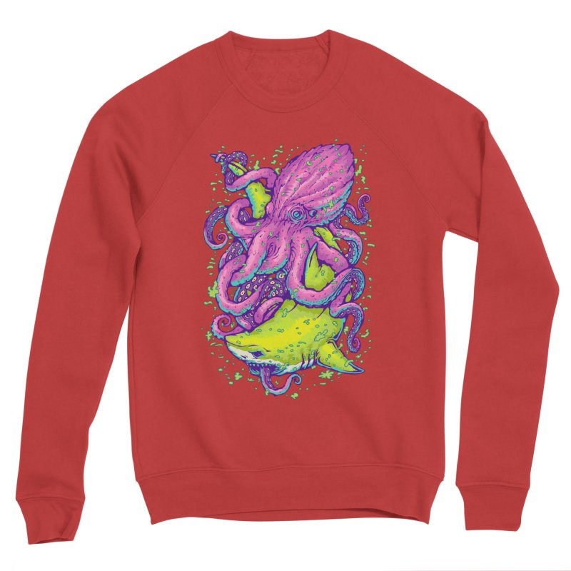 Ocean king Women's Sponge Fleece Sweatshirt by villainmazk's Artist Shop