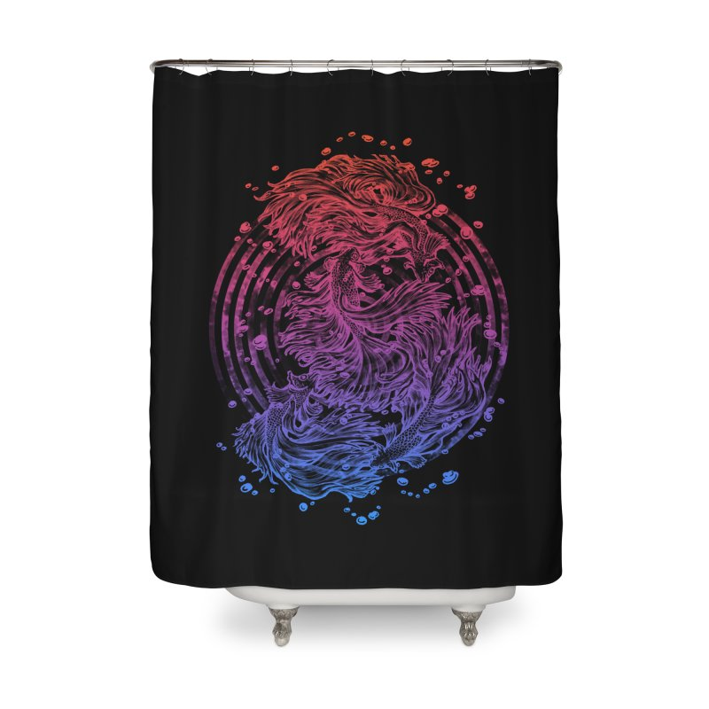Betta Wave Home Shower Curtain by villainmazk's Artist Shop