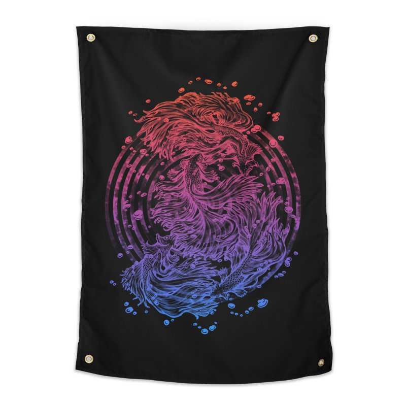 Betta Wave Home Tapestry by villainmazk's Artist Shop