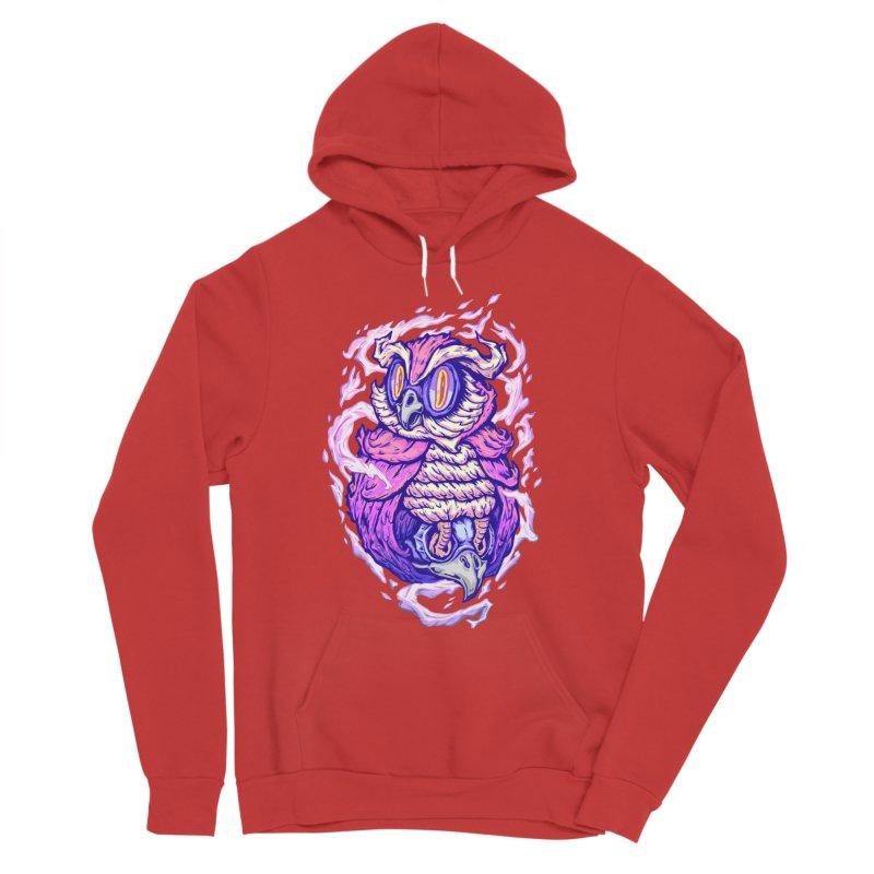 owl spirit Women's Pullover Hoody by villainmazk's Artist Shop