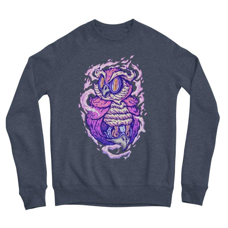 owl spirit Men's Sponge Fleece Sweatshirt by villainmazk's Artist Shop