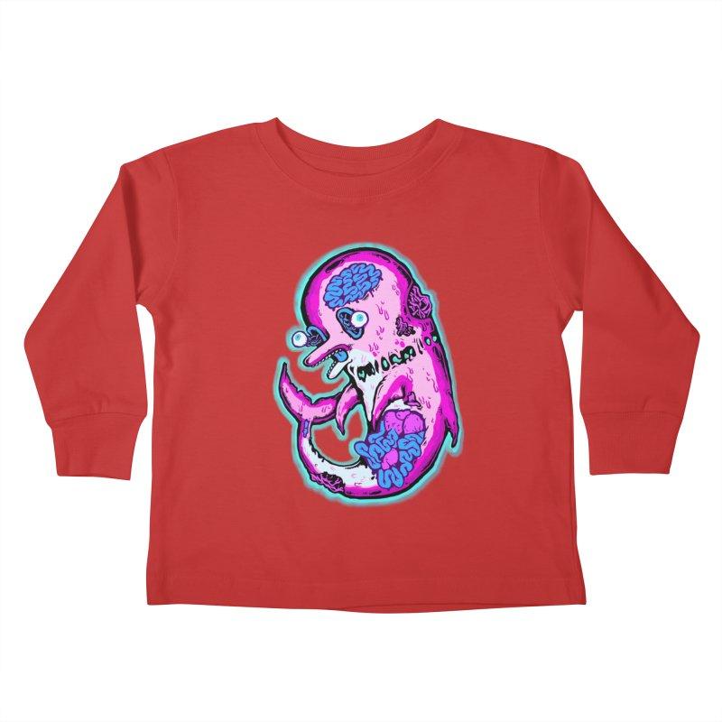 Dead Dolphin Kids Toddler Longsleeve T-Shirt by villainmazk's Artist Shop