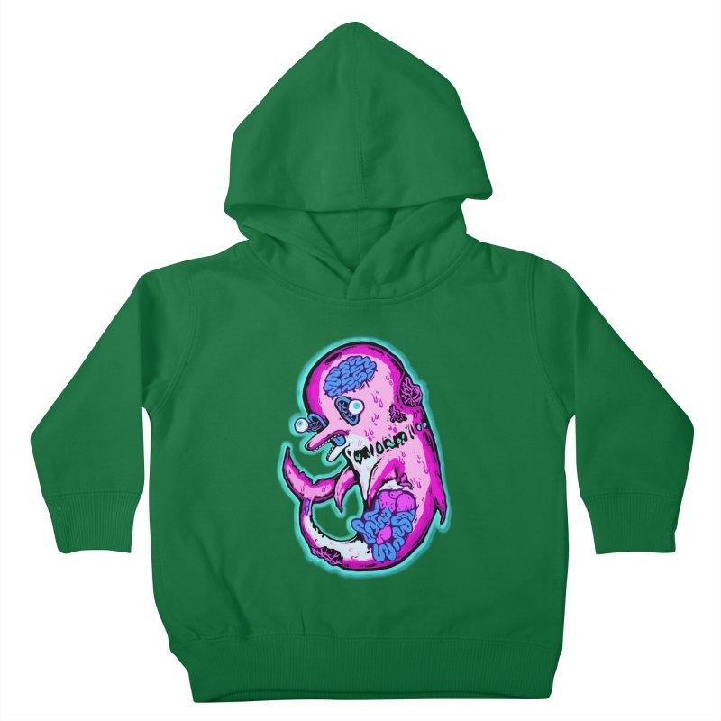 Dead Dolphin Kids Toddler Pullover Hoody by villainmazk's Artist Shop