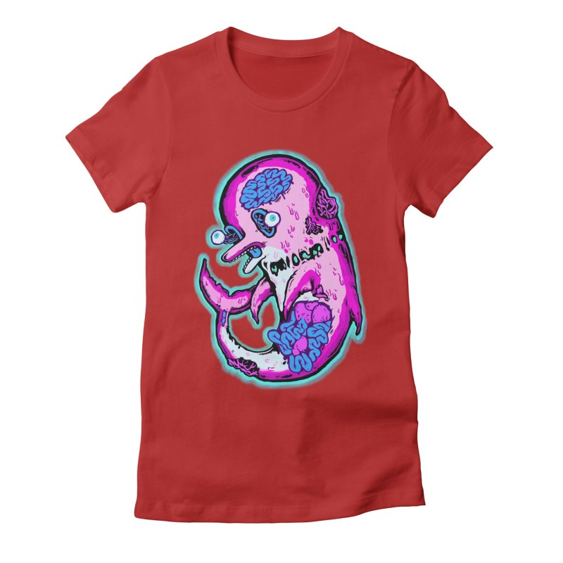 Dead Dolphin Women's Fitted T-Shirt by villainmazk's Artist Shop