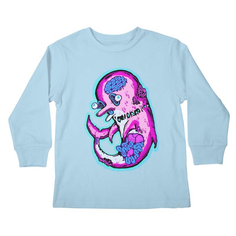Dead Dolphin Kids Longsleeve T-Shirt by villainmazk's Artist Shop