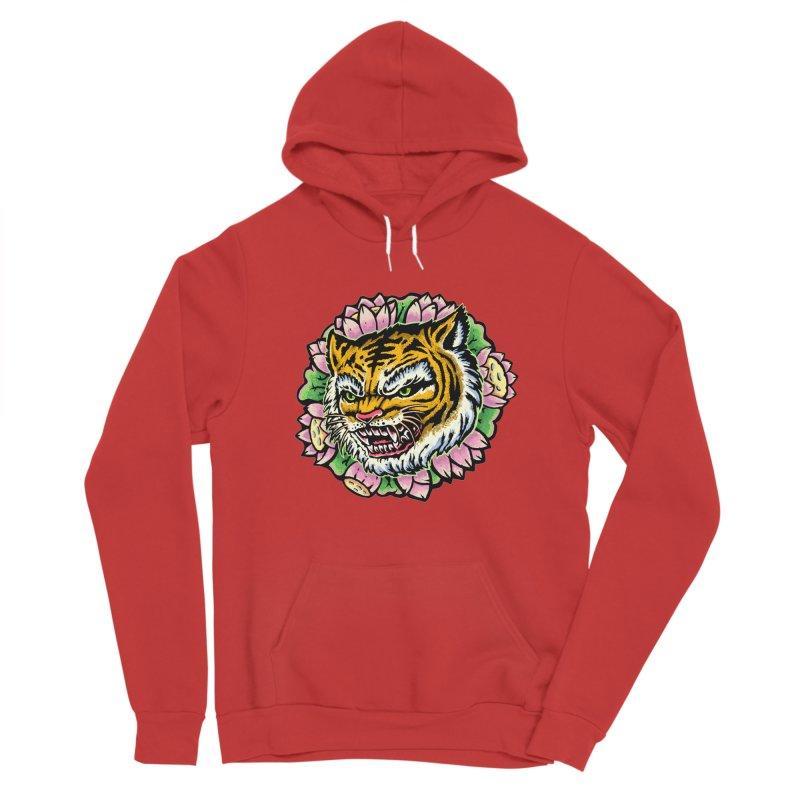 Tiger & Lotus Women's Pullover Hoody by villainmazk's Artist Shop