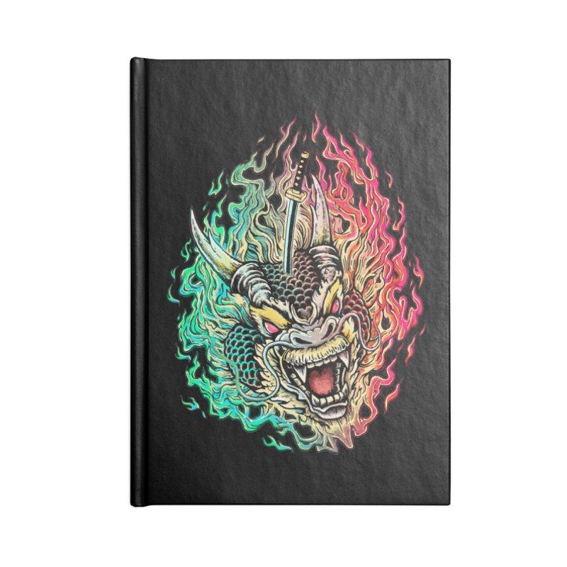 Dragon Slayer Accessories Notebook by villainmazk's Artist Shop