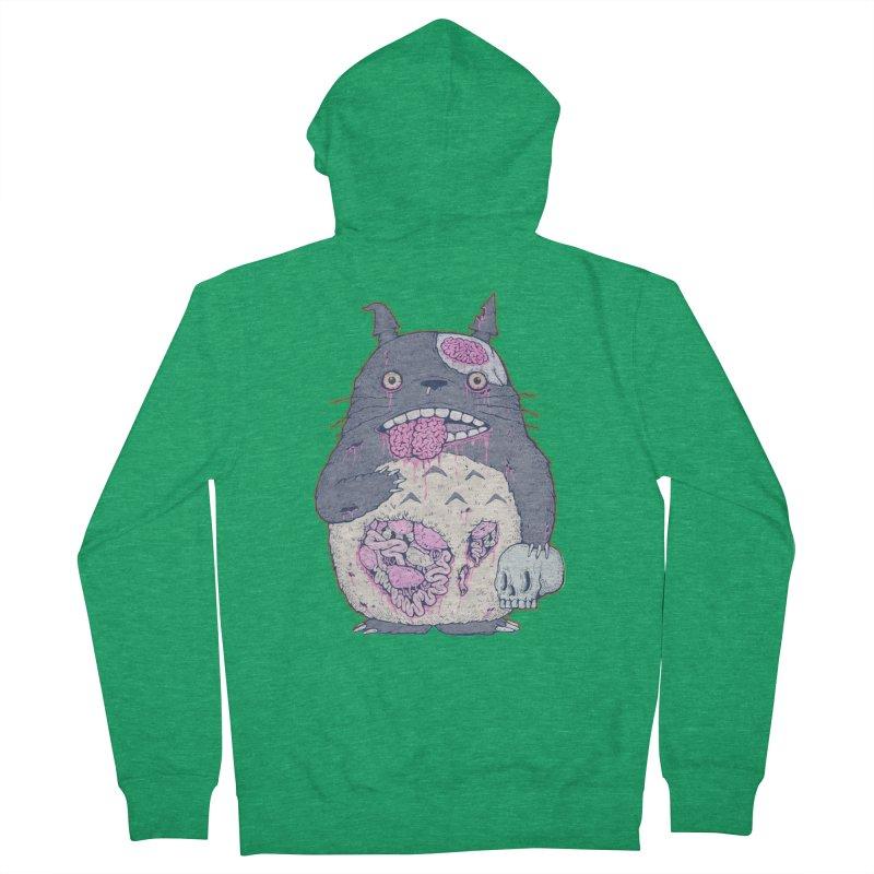 Totoro Undead Women's Zip-Up Hoody by villainmazk's Artist Shop