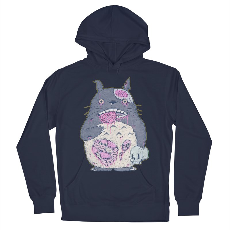 Totoro Undead Men's Pullover Hoody by villainmazk's Artist Shop