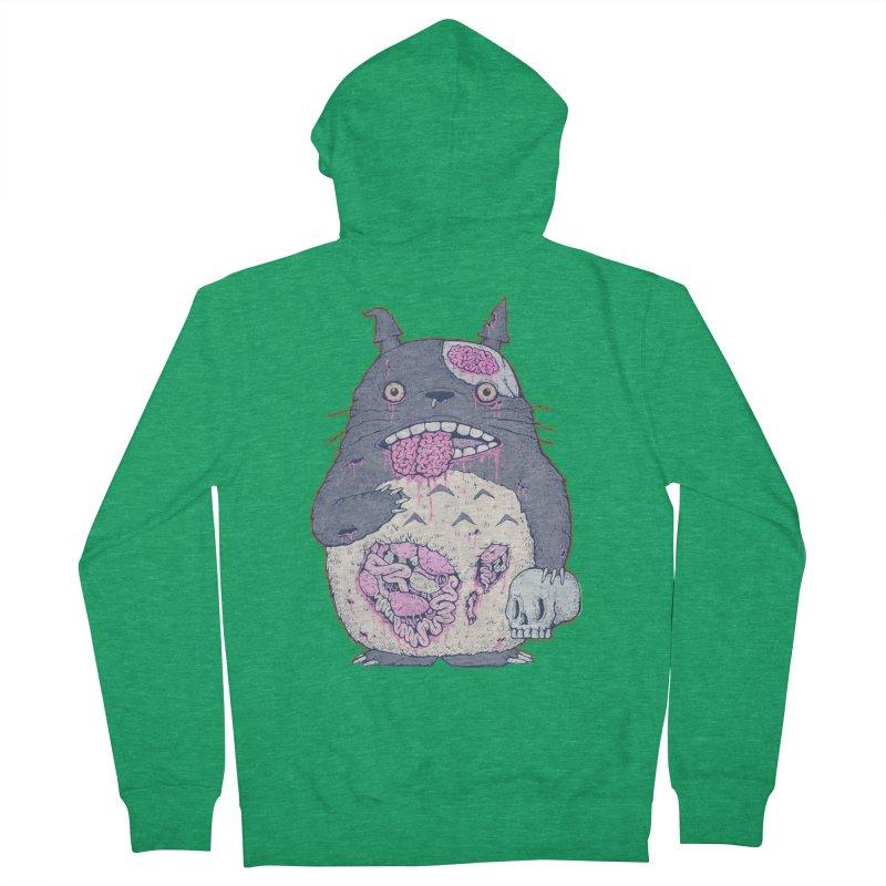 Totoro Undead Men's Zip-Up Hoody by villainmazk's Artist Shop