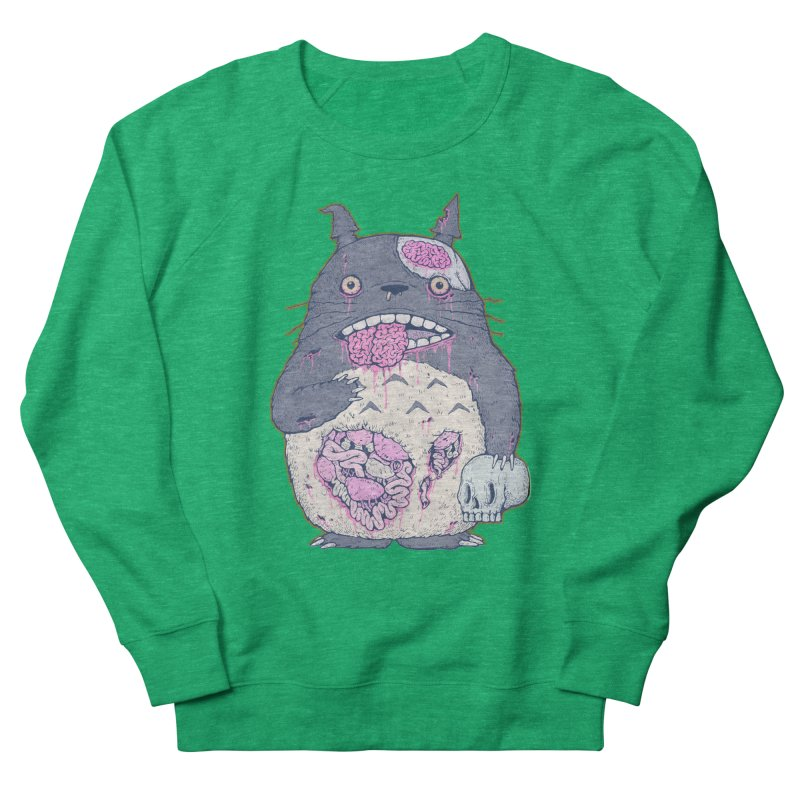 Totoro Undead Women's Sweatshirt by villainmazk's Artist Shop