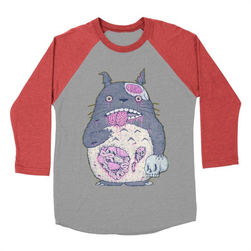 Totoro Undead Women's Baseball Triblend T-Shirt by villainmazk's Artist Shop
