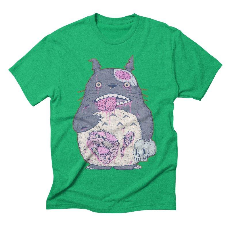 Totoro Undead Men's Triblend T-shirt by villainmazk's Artist Shop