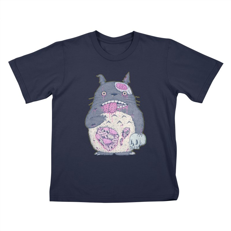 Totoro Undead Kids T-Shirt by villainmazk's Artist Shop