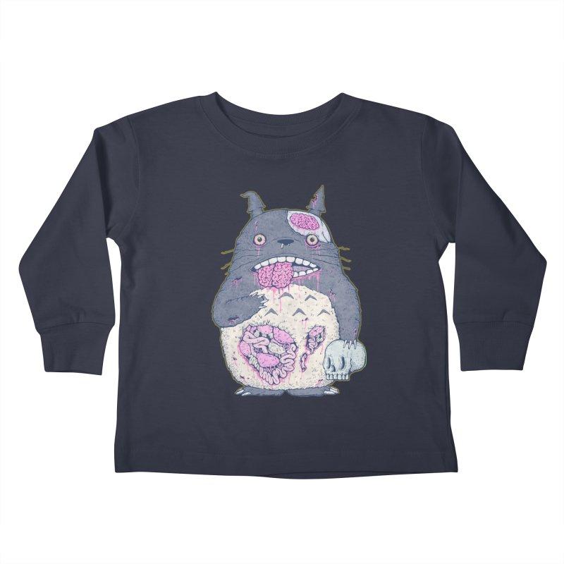 Totoro Undead Kids Toddler Longsleeve T-Shirt by villainmazk's Artist Shop