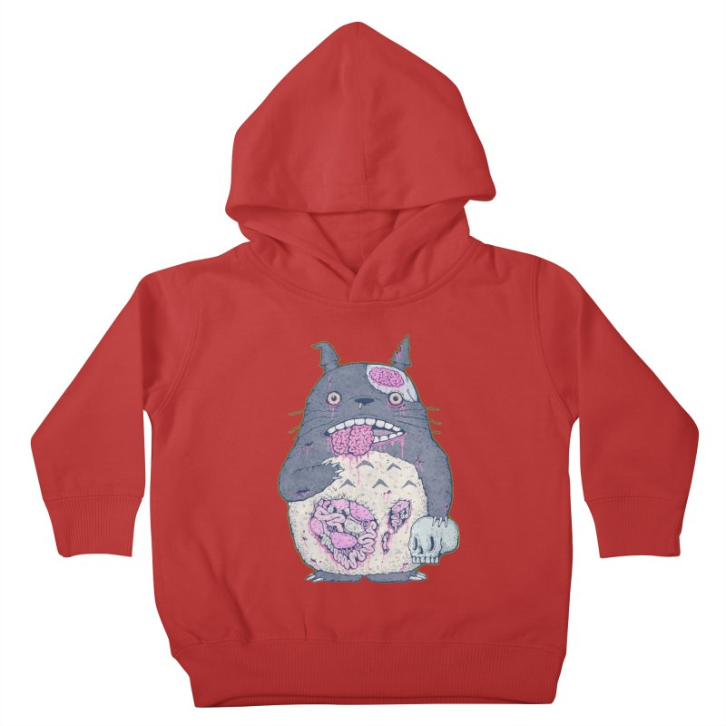 Totoro Undead Kids Toddler Pullover Hoody by villainmazk's Artist Shop
