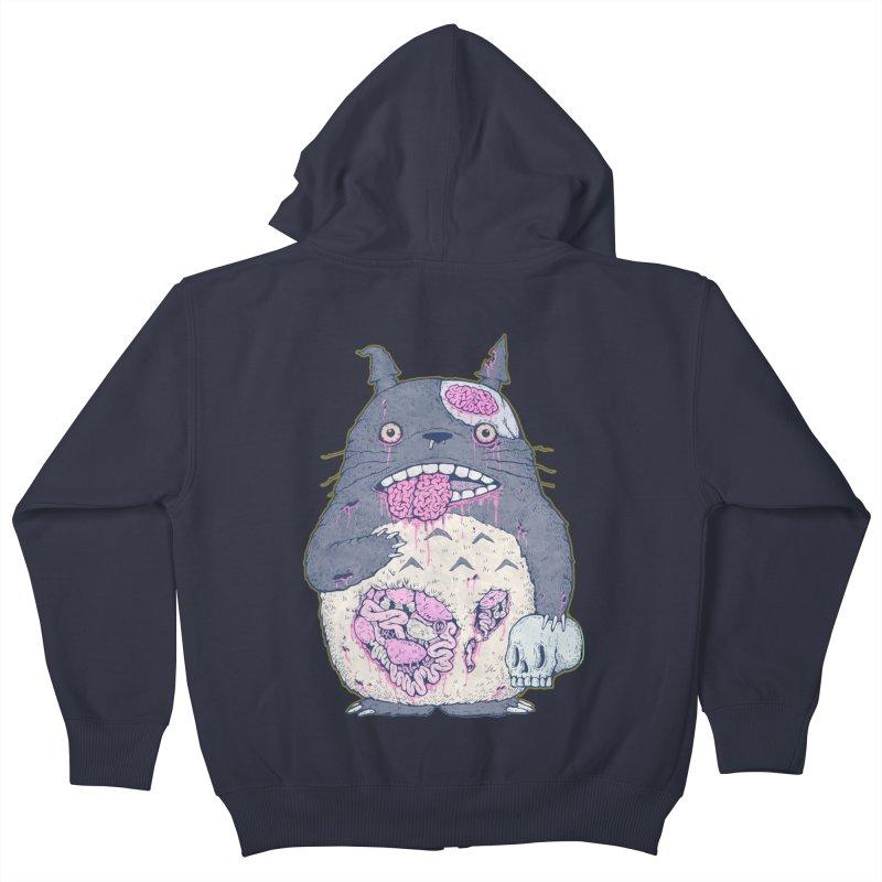 Totoro Undead Kids Zip-Up Hoody by villainmazk's Artist Shop