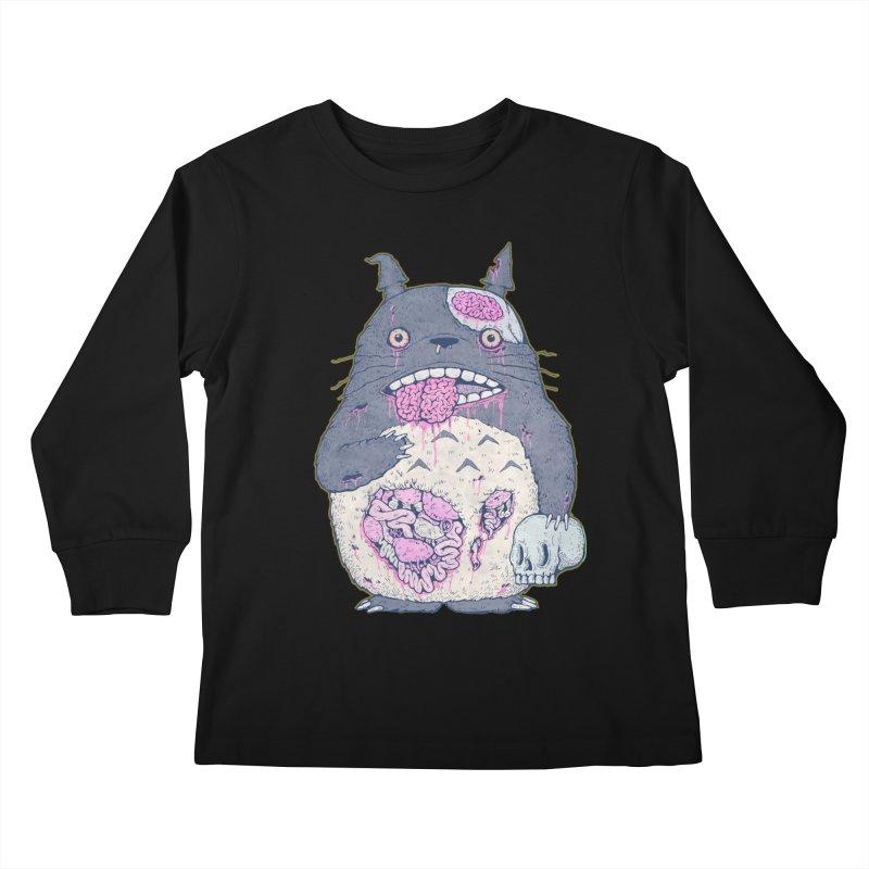Totoro Undead Kids Longsleeve T-Shirt by villainmazk's Artist Shop