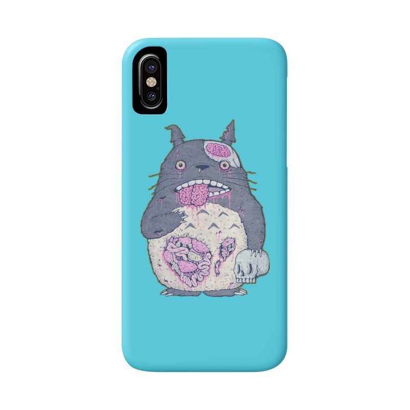 Totoro Undead Accessories Phone Case by villainmazk's Artist Shop