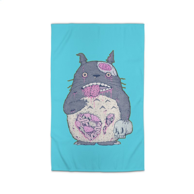 Totoro Undead Home Rug by villainmazk's Artist Shop