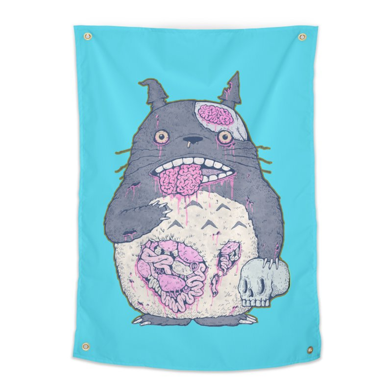Totoro Undead Home Tapestry by villainmazk's Artist Shop
