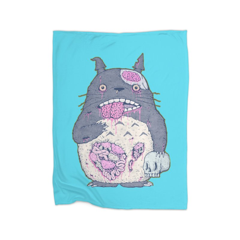 Totoro Undead Home Blanket by villainmazk's Artist Shop