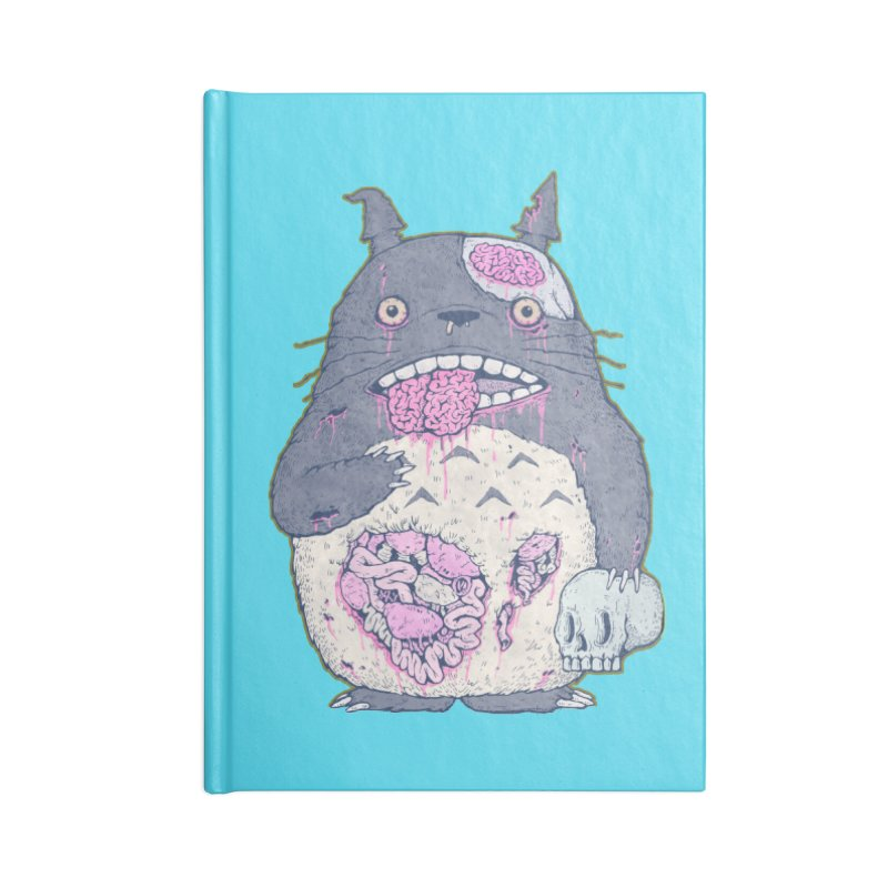 Totoro Undead Accessories Notebook by villainmazk's Artist Shop