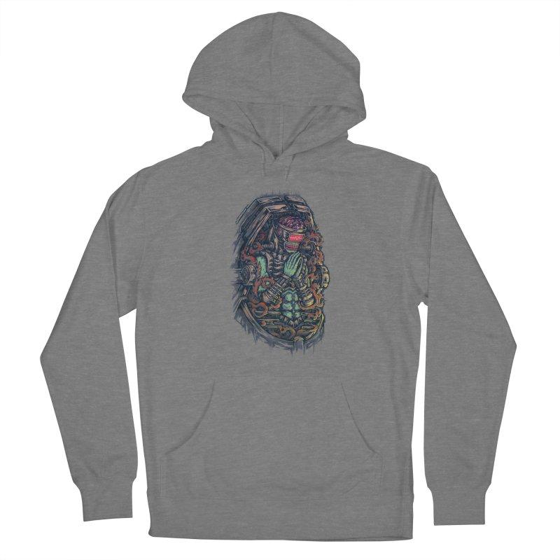 Cyborg Pray Women's Pullover Hoody by villainmazk's Artist Shop