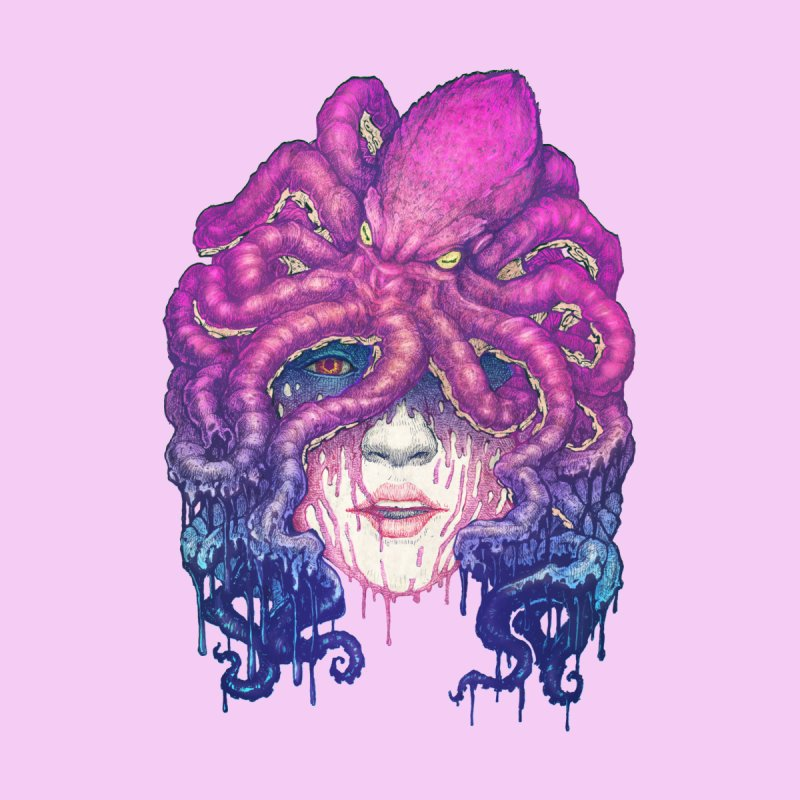 Dark Queen of The Deep Sea Men's T-Shirt by villainmazk's Artist Shop