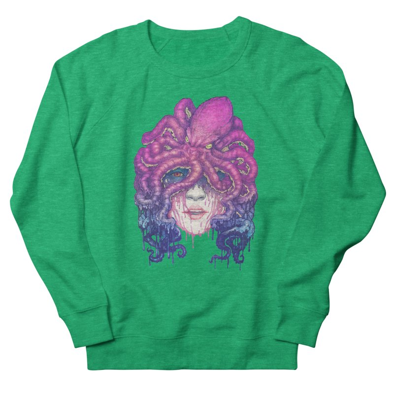Dark Queen of The Deep Sea Men's Sweatshirt by villainmazk's Artist Shop