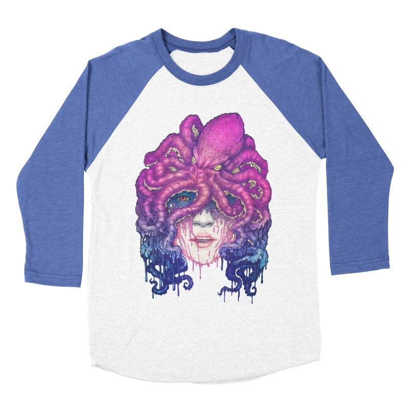 Dark Queen of The Deep Sea Women's Baseball Triblend T-Shirt by villainmazk's Artist Shop
