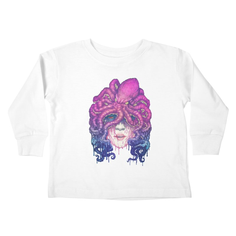 Dark Queen of The Deep Sea Kids Toddler Longsleeve T-Shirt by villainmazk's Artist Shop