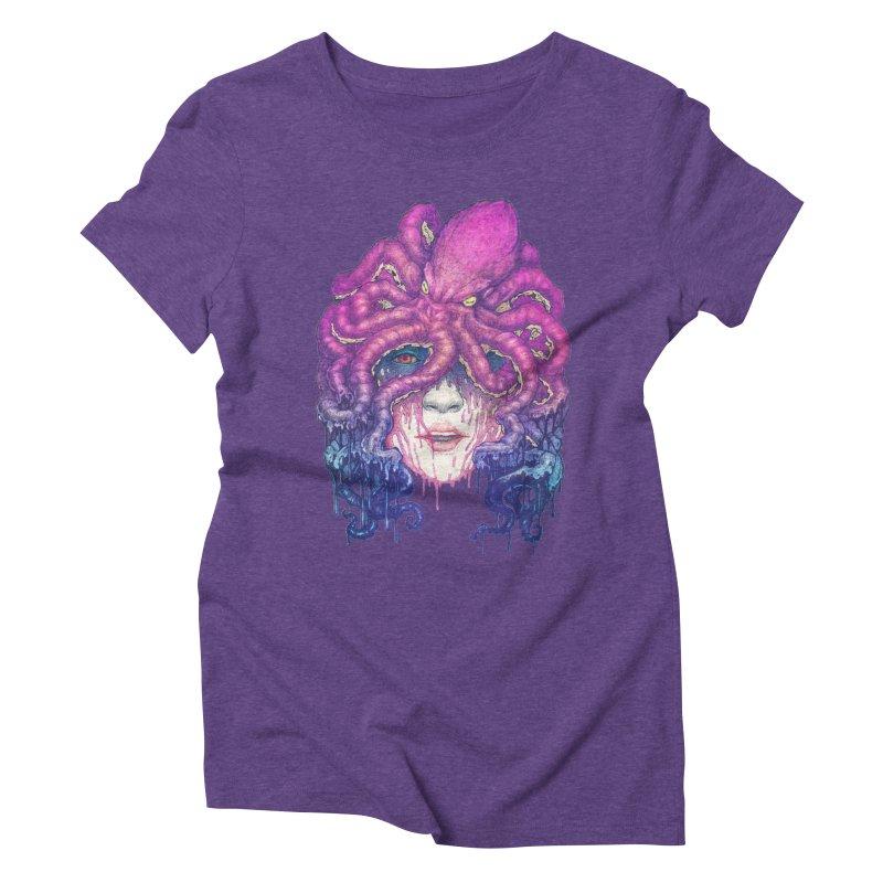 Dark Queen of The Deep Sea Women's Triblend T-shirt by villainmazk's Artist Shop