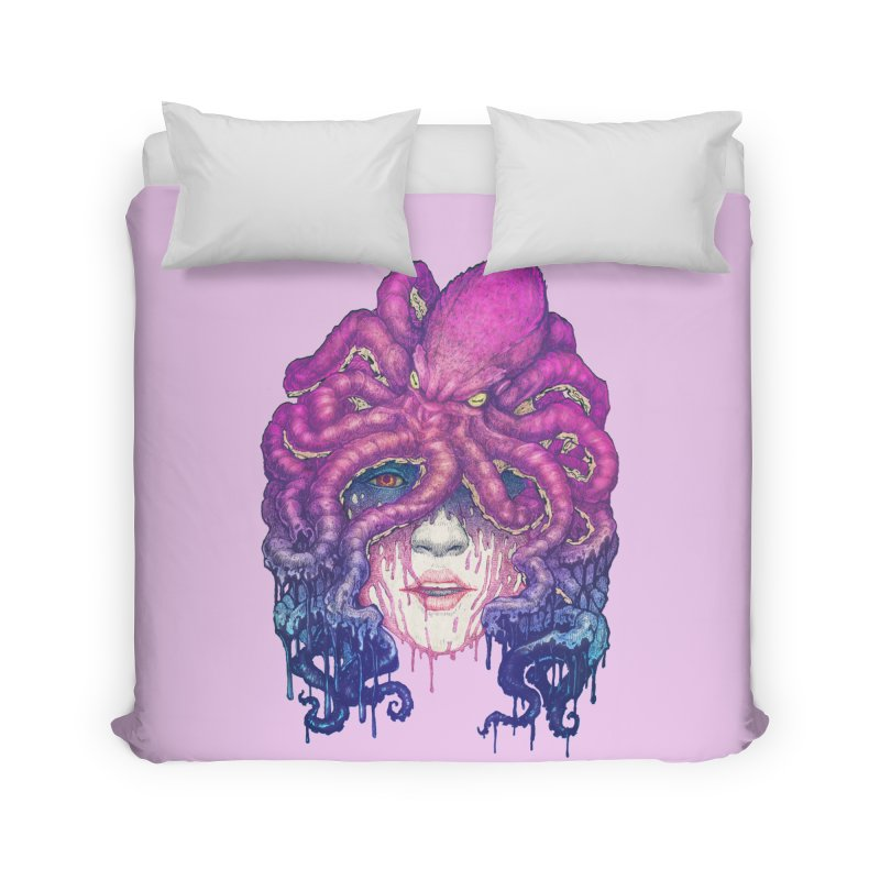 Dark Queen of The Deep Sea Home Duvet by villainmazk's Artist Shop