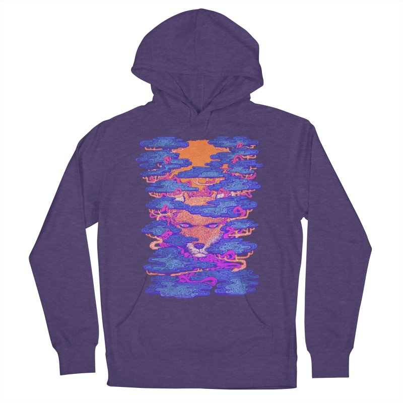 Fox in the Woods Men's Pullover Hoody by villainmazk's Artist Shop