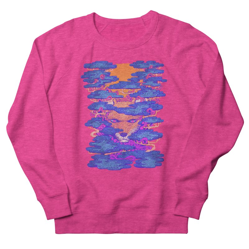 Fox in the Woods Men's Sweatshirt by villainmazk's Artist Shop