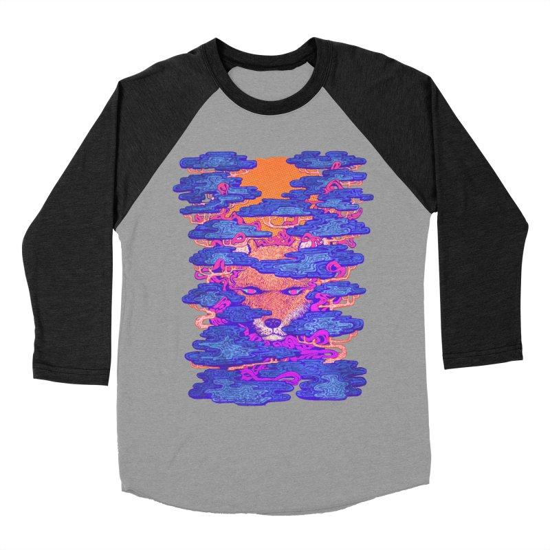 Fox in the Woods Men's Baseball Triblend T-Shirt by villainmazk's Artist Shop