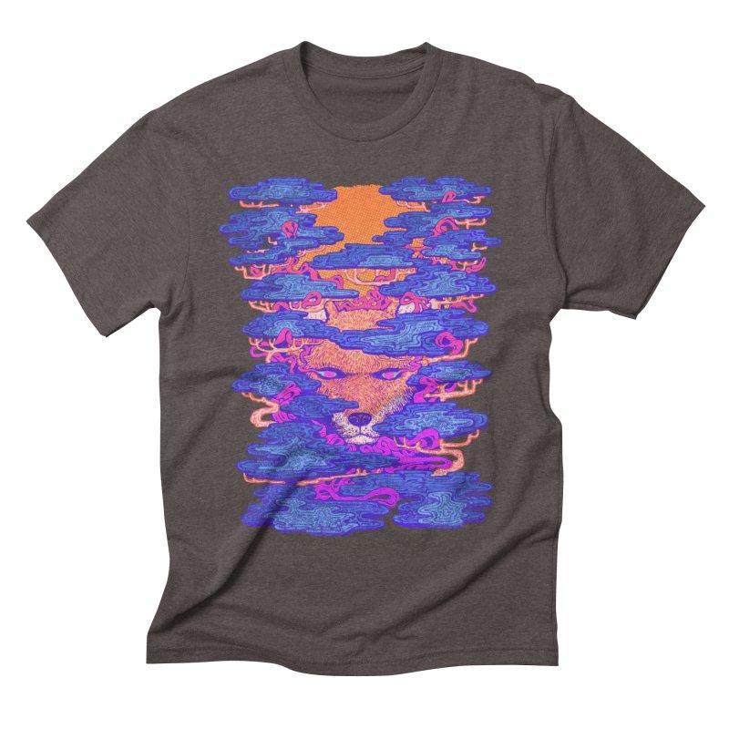 Fox in the Woods Men's Triblend T-shirt by villainmazk's Artist Shop