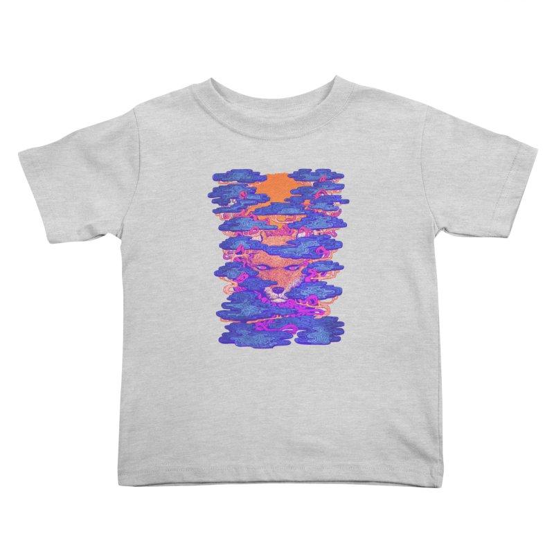 Fox in the Woods Kids Toddler T-Shirt by villainmazk's Artist Shop