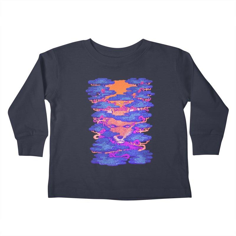 Fox in the Woods Kids Toddler Longsleeve T-Shirt by villainmazk's Artist Shop